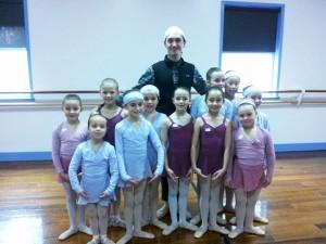Lachlan Phillips Junior Ballet Class